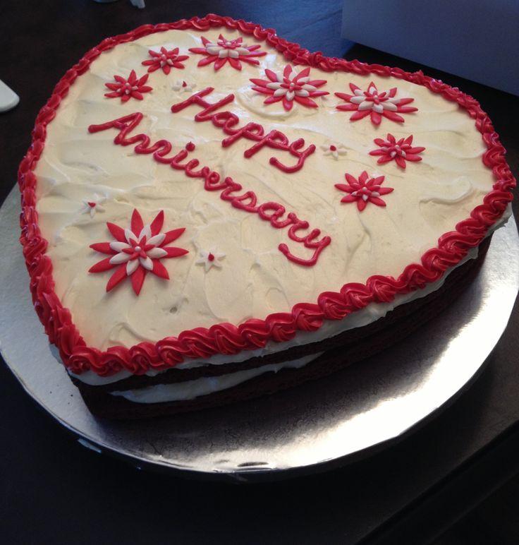 Red Heart Cake Images : Red velvet heart cake Cupcake & Cake Creations Pinterest