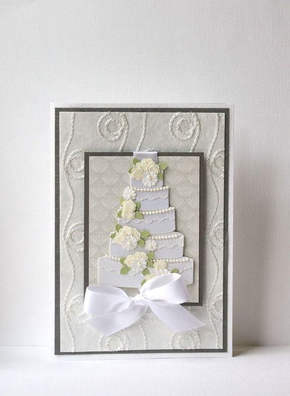 Wedding Handmade Card by SusanTracie on Etsy, $6.50