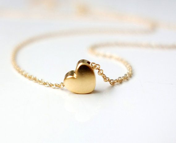 Tiny Heart... I dont care too much for heart jewelery, but this is cute!