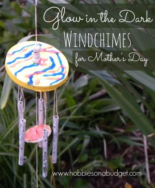 DIY  Handmade : DIY Glow in the Dark Windchimes