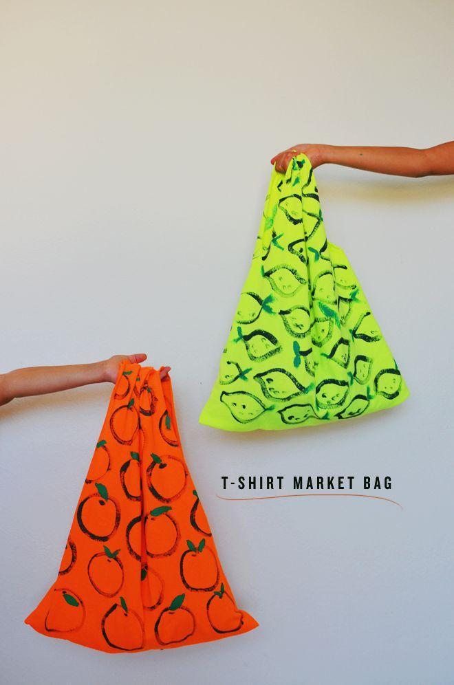 t-shirt market bag