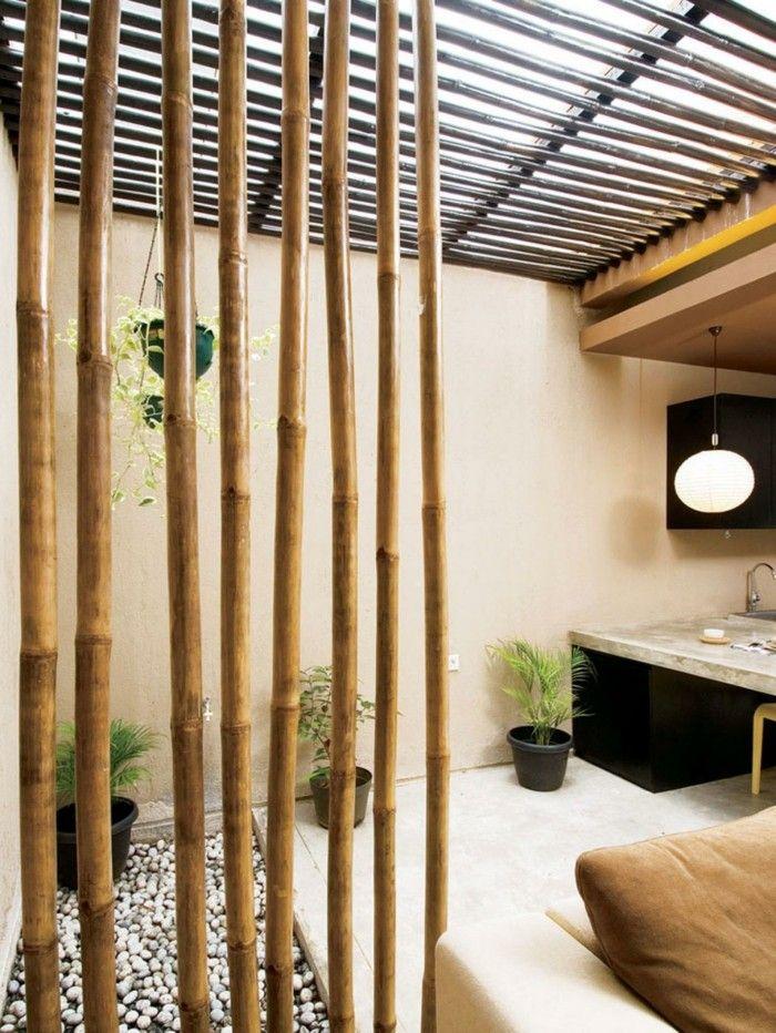 заказать бамбуковые перегородки фото себя