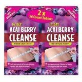 Acai Berry Cleanse 2 / 56 ct. boxes - Lose that extra weight that you can t seem to get rid of. Acai Berry Cleanse contains antioxidants and helps you lose the bulge and bloat. It cleanses away excess toxins and flushes away pounds of backed-up matter clogging your digestive system.  - http://weightlosshype.com/acai-berry-cleanse-2-56-ct-boxes/