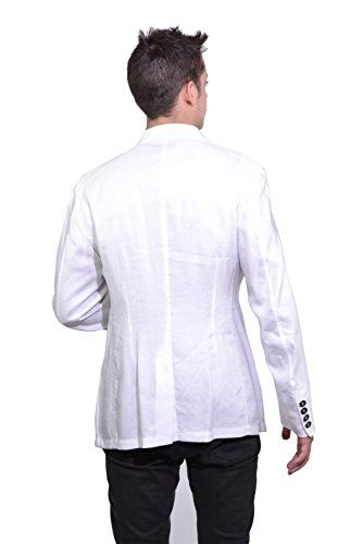 Giorgio Armani Black Label Men's Bamboo White Blazer