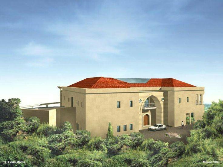 A private residence in Chemlane Lebanon, by 3rd DIMENSION Architects - www.3darchitects-lb.com _ #architecture #design #architectsinlebanon