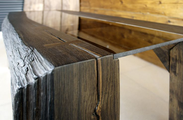 coffee table with black oak 1600 years