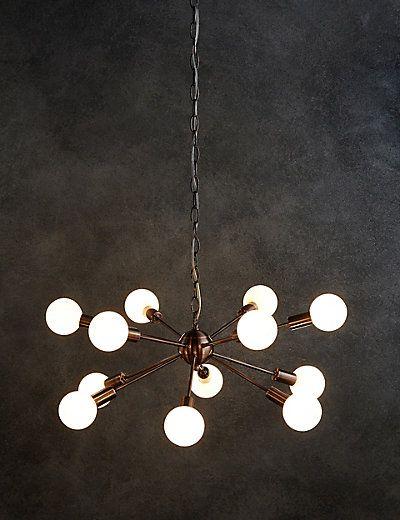 Dexter Copper Sputnik Ceiling Pendant