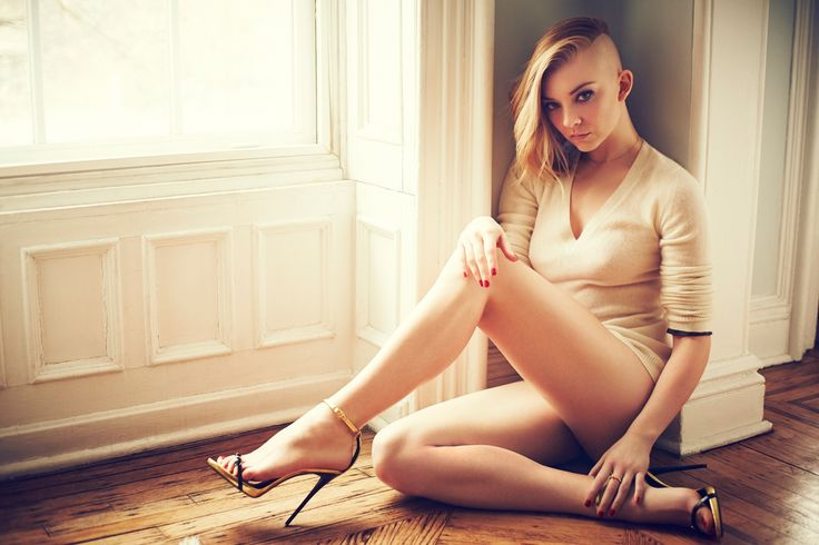 People 1950x1300 blonde actress feet celebrity Natalie Dormer  women high heels legs