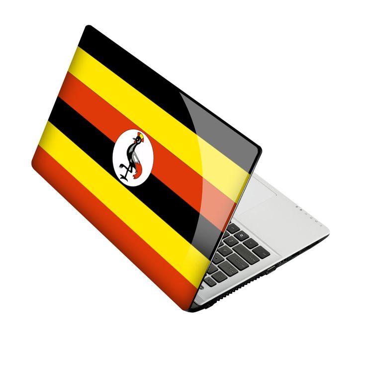 Flag of Uganda #asus15 http://skin4gadgets.com
