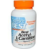 iHerb.com - Customer Reviews -Doctor's Best, Best Acetyl-L-Carnitine HCl, 588 mg, 120 Capsules