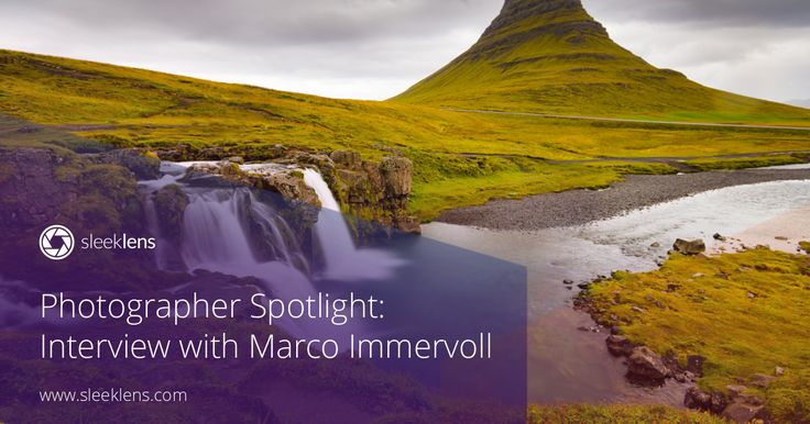 Check out this amazing interview with nature photographer Marco Immervoll.