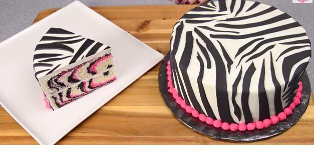 How to make a Pink Zebra Cake!!!! http://ktwb.com/blogs/miss-cindys-sensations/1325/how-to-make-a-pink-zebra-cake/