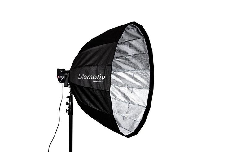 Is your Deep Octa too small for you? Then go for bigger with our new #elinchrom litmotiv #Softbox 120 or 190 cm !!!