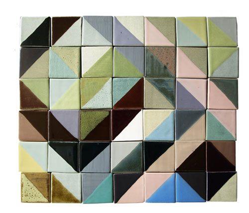 Lubna Chowdhary Tiles: Decor Ideas, Origami Tile, Design Interiors, Interiors Design, Lubna Chowdhari, Design Bedrooms, Geometric Tile, Interiors Ideas, Chowdhari Tile