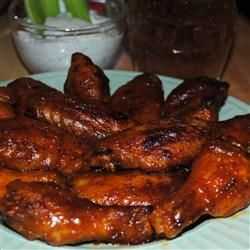 ARE YOU READY FOR SOME FOOTBALL WINGS?! Blue Cheese Hot Wings! Allrecipes.com