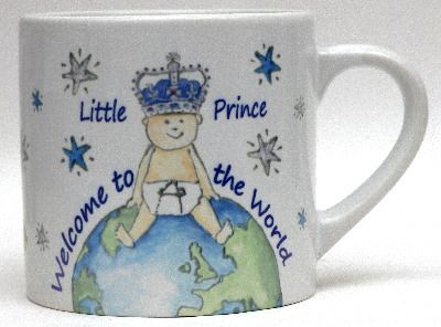 Baby Prince mug from Jenny Bell Ceramics.