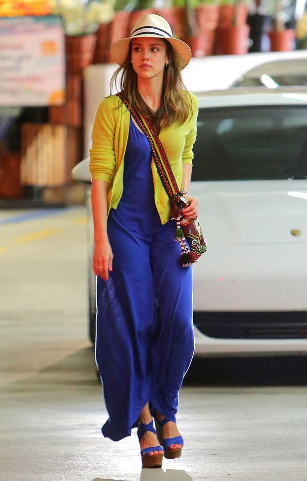 Jessica Alba.....love her seemingly effortless style