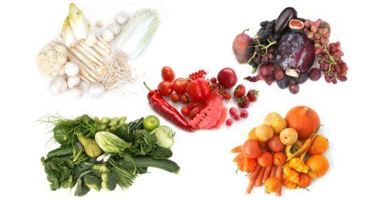 colori frutta