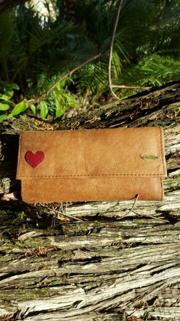 Genuine leather wallet, stylish, rustic feel, you will fall in love. www.nellybags.co.za