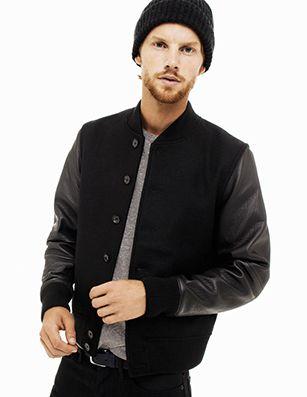 Varsity Jacket &amp Beanies | This Just In // Men | Pinterest
