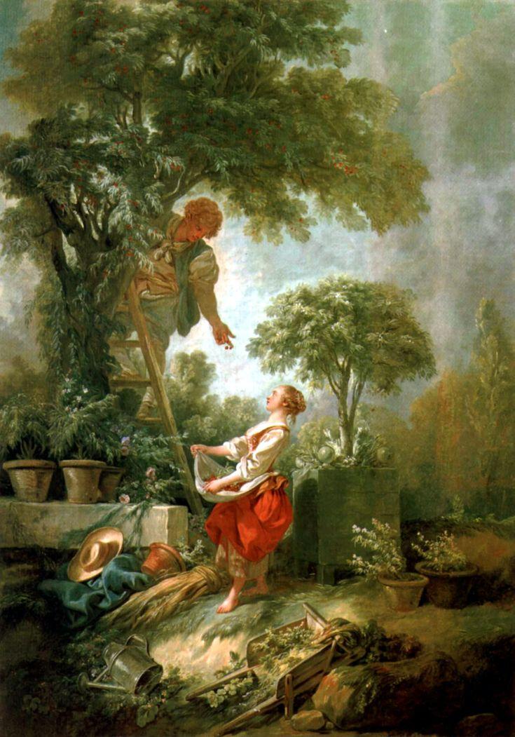 Cueilette des Cerises, Francois Boucher, 1768