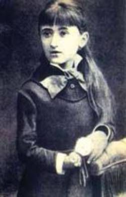 Rosa Luxemburg, zwölfjährig