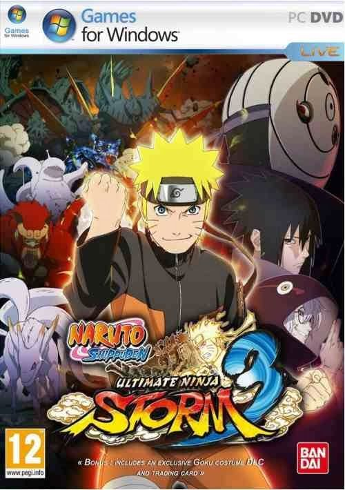 Download Naruto Shippuden Ultimate Ninja Storm 3 Full Burst PC Game With Crack