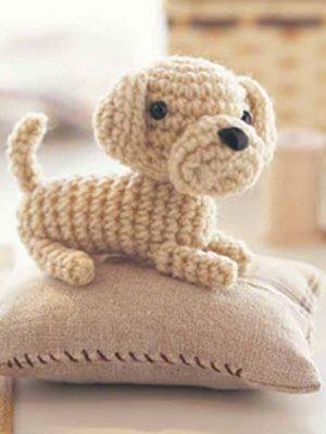 Crochet Puppy: free pattern