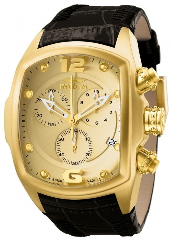 relogio invicta lupah # 6731 quartz chronograph
