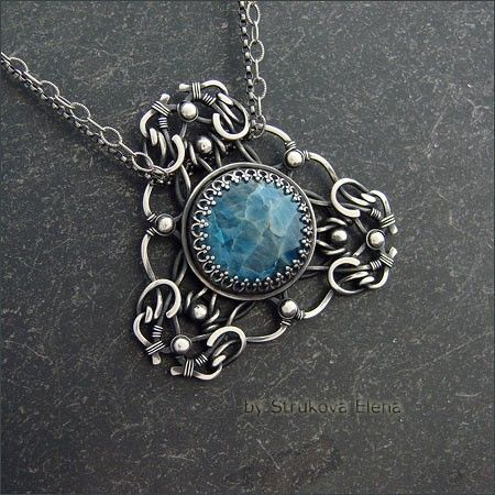 Necklaces and pendants - Strukova Elena - copyrights decorations