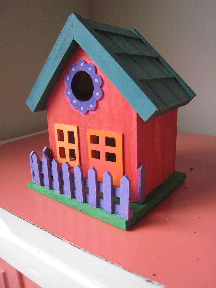 Best 25 Painted Birdhouses Ideas On Pinterest Bird