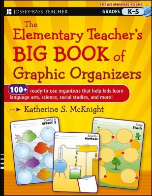 Graphic organizers are a powerful metacognitive teaching andlearning tool and this book features 100 graphic organizers forteachers in grades K-5--double the number of any other book onthe market. These graphic organizers can be used as beforelearning, during learning, or after learning activities, andsupport students' learning in the major content areas.