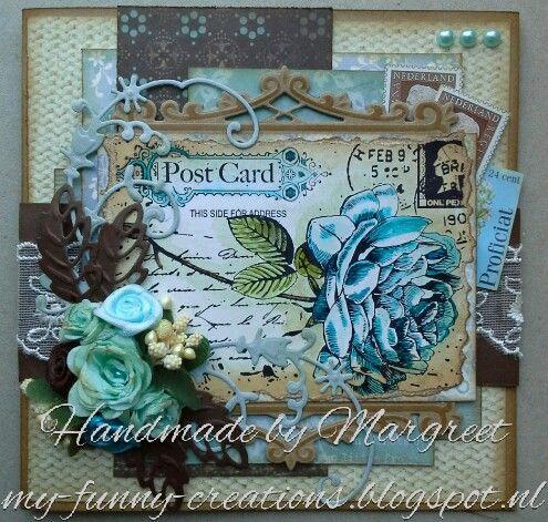Noor!design old letter rose