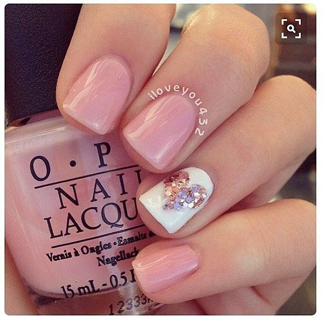 Makeup, Beauty, Hair & Skin | 100 Crush-Worthy Valentine's Day Nail Art Ideas | POPSUGAR Beauty