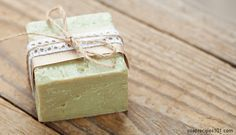 tea tree cold process soap. great for oily, acne prone skin, psoriasis, rashes etc.
