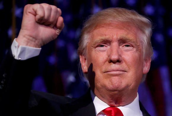 NEW YORK -- Republican candidate Donald Trump snatched the victory for the 2016 U.S. presidential election Wednesday night, ending a race that was unp