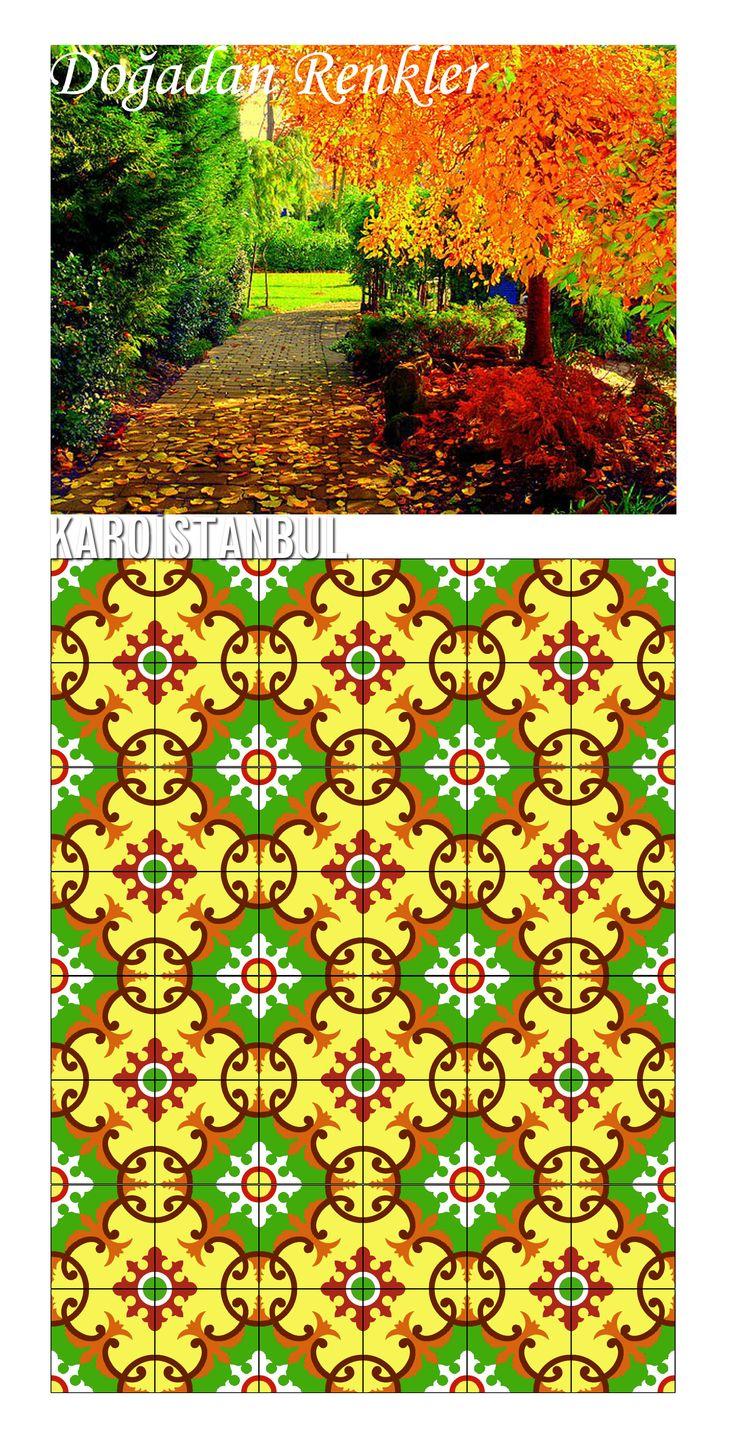 KAROİSTANBUL: Renklerini doğadan alan sanat...