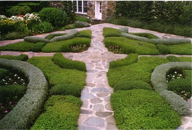 182 best images about knot gardens on pinterest gardens for Celtic garden designs