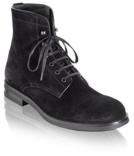 Handmade Men black suede leather boot, Men black biker boots, Mens boot #Handmade #Ankleboot