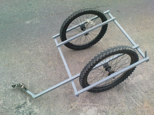 DIY Bike Trailer (photo only).