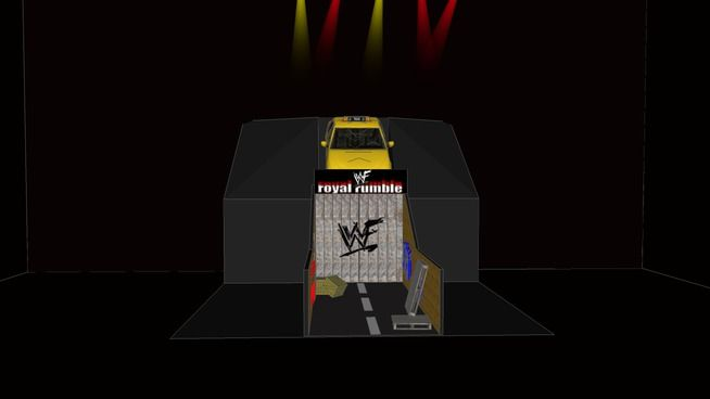 Large preview of 3D Model of Royal Rumble 2000