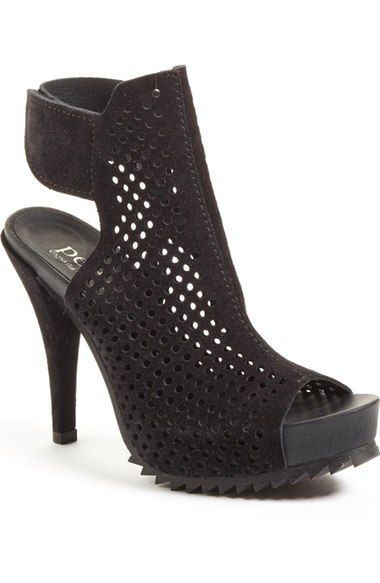 Pedro Garcia 'Persis' Perforated Suede Platform Sandal (Women) available at #Nordstrom