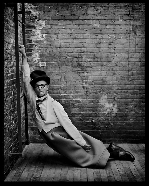 Mark SELIGER :: Bill Irwin, from 'In My Stairwell'