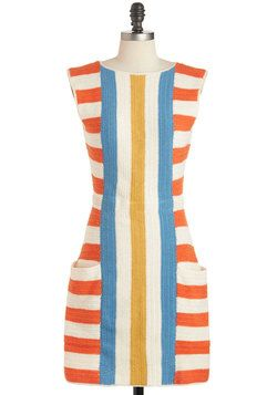 """ i must, i will""  -Lauren Moffatt That's My Barbecue Dress, #ModCloth"