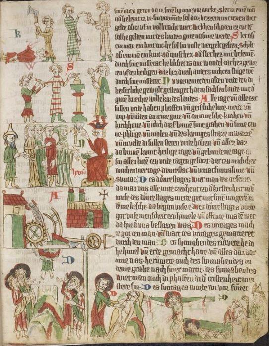 Eike <von Repgow>   Heidelberger Sachsenspiegel — Ostmitteldeutschland, Anfang 14. Jh. Cod. Pal. germ. 164 Folio 11r