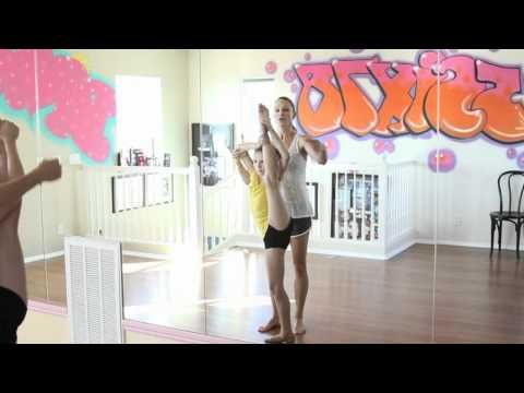 """Learn """"Kick Spin"""" or Leg hold pirouette - YouTube"""