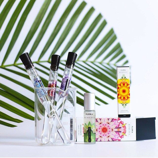 Shift your mood no matter where you are with Flora Remedia.