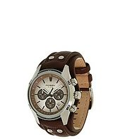 Fossil - CH2565 Cuff Chronograph Leather Watch
