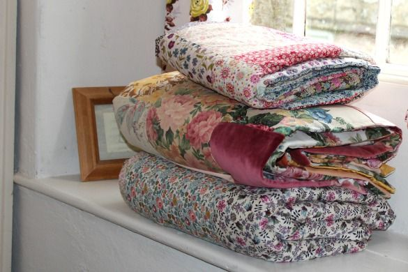 tales of ted and agnes: QUICK & EASY EIDERDOWN