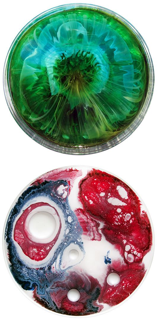 Day #4: Something that screams CREATIVITY. I love these petri dish works by Klari Reis, she mimics electron microscope images of natural and unnatural cellular reactions using reflective epoxy polymer. I'm fascinated by the concept and creativity that inspired it